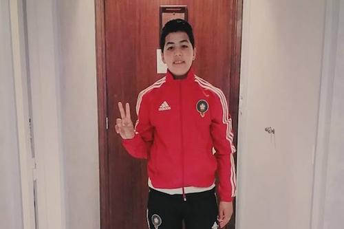 مصرع لاعبة المنتخب الوطني النسوي بعد حادث سير مروع