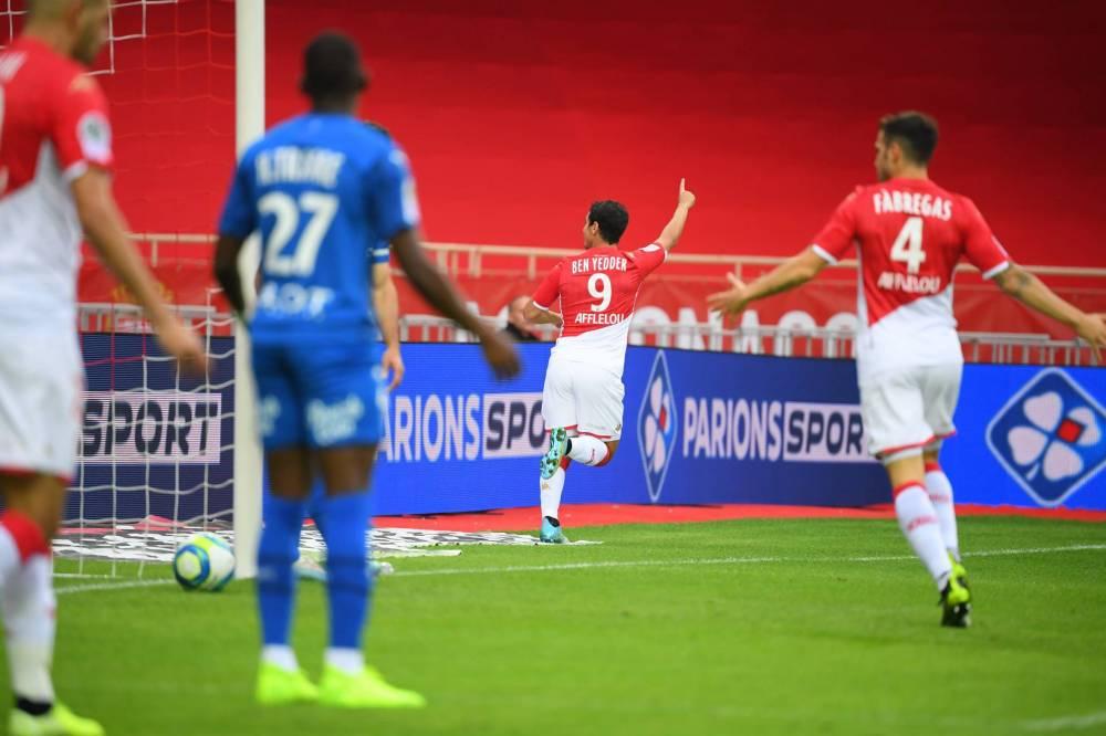 موناكو ينتزع 3 نقاط ثمينة من رين في الليغ1