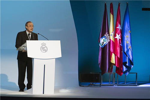 بيريز بلا منافس على رئاسة ريال مدريد