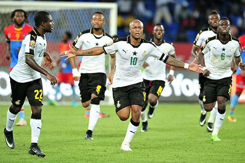 جيان والشقيقان آيو يتصدرون قائمة غانا في الكان