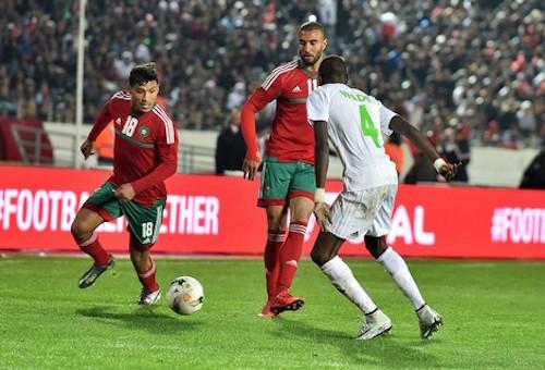 """الحافيظي """"رجل مباراة"""" المنتخب المحلي وموريتانيا"""