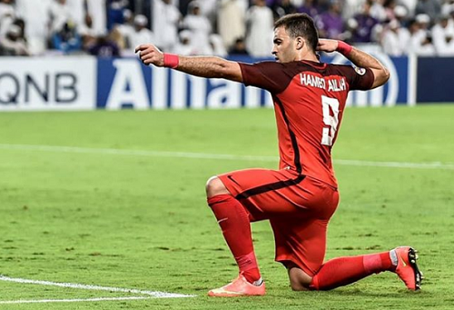 """حمد الله لهسبورت: المنتخب قادر على تجاوز الدور الأول بـ""""المونديال"""".. ولا أفكر في العودة إلى البطولة"""
