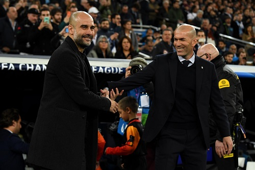 غوارديولا: إذا كان هناك فريق قادر على قلب الطاولة فهو ريال مدريد