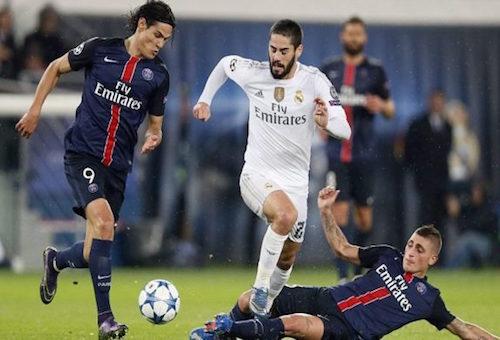 البث المباشر لمباراة ريال مدريد - باريس سان جيرمان