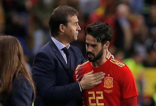 إيسكو يبعث رسالة تفاؤل قبل ديربي مدريد