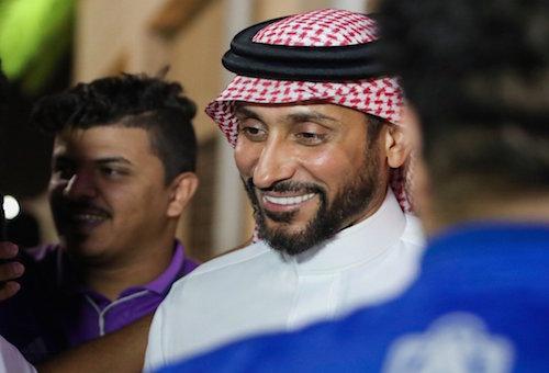 الجابر: بنشرقي من بين أفضل اللاعبين العرب
