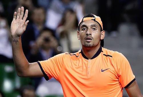 رابطة التنس تفرض غرامة كبيرة على كيريوس