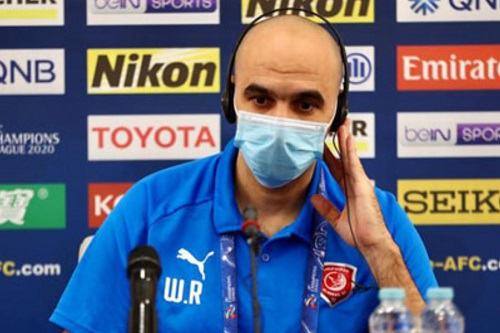 وليد الركراكي: البطولة الآسيوية تختلف عن الدوري والمعنويات عالية في الدحيل