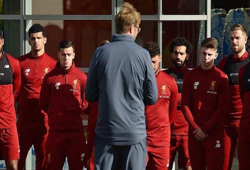 ليفربول يستعد لمواجهة اليونايتد بعد عودة كوتينيو وفيرمينو