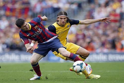 فيليبي لويس يقترب من اللحاق بديربي مدريد