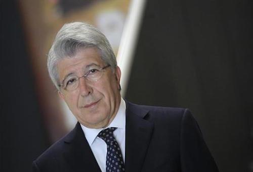 رئيس أتلتيكو مدريد يتحدث مازحًا عن مستقبل كوستا