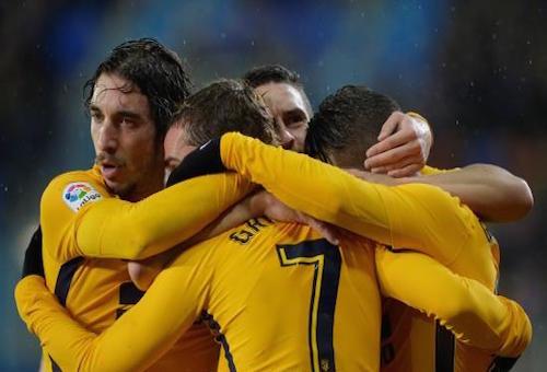 أتلتيكو مدريد يقتنص فوزًا مهمًا أمام إيبار