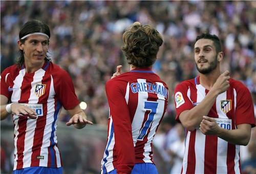 أتلتيكو مدريد يفوز على روما ويتمسك بفرصة البقاء في دوري الأبطال