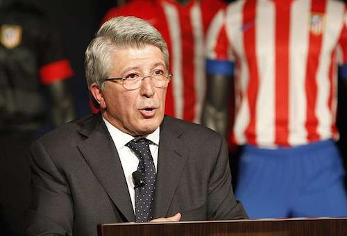 رئيس أتلتيكو مدريد: لدينا فرصة للمنافسة على الليغا