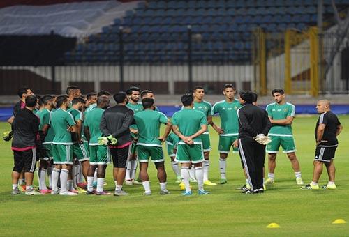 تشكيلة المنتخب المحلي الرسمية لمواجهة مصر