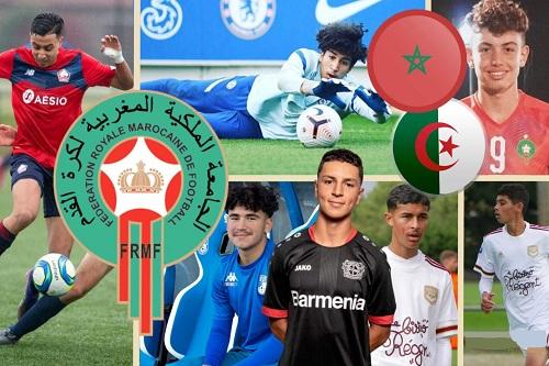 اختيار المواهب مزدوجة الجنسية للمغرب يجر غضباً على اتحاد الكرة الجزائري