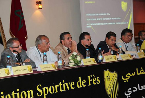 بناني يعلن عن لائحة المكتب المسير للمغرب الفاسي