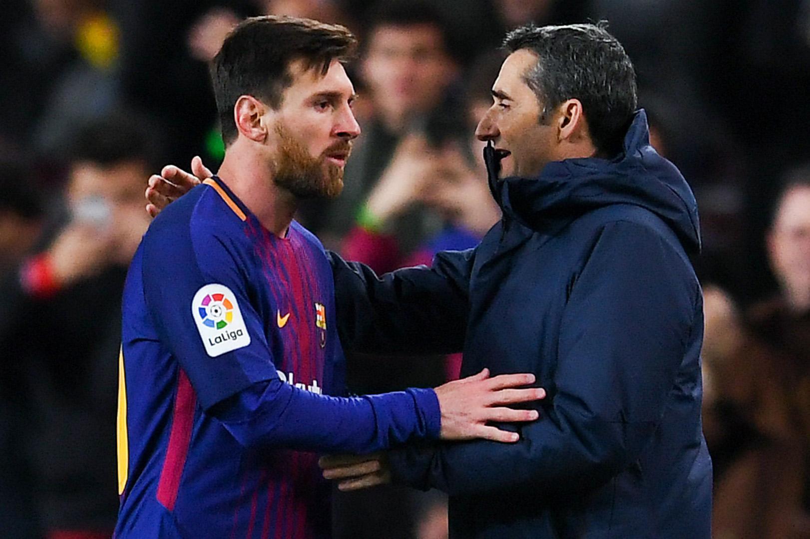 فالفيردي: لست قلقا من تصريحات ميسي حول الرحيل عن برشلونة
