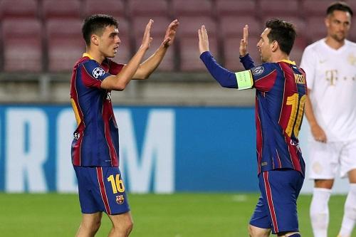 بيدري غونزاليس: لا أتخيل أنني ألعب بجوار ميسي في برشلونة