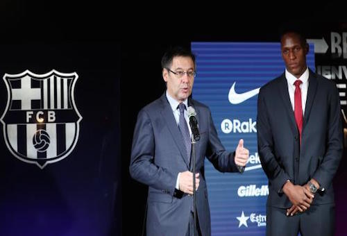 ياري مينا يحدد دوافع انتقاله لبرشلونة