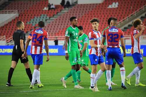 5 مشاهد من فوز الرجاء الرياضي على المغرب التطواني