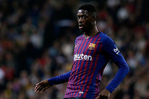 الإصابة تحرم برشلونة من جهود ديمبلي لمدة شهر
