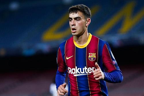 برشلونة يمدد عقد بيدري غونزاليس حتى 2026