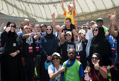 """قطر تشرك ذوي الإعاقة الذهنية والنمائية في تنظيم """"مونديال"""" 2022"""