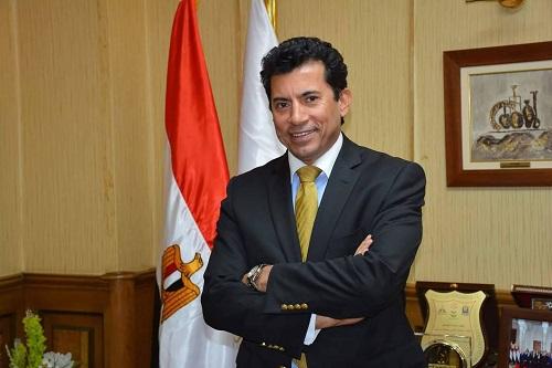 وزير الرياضة المصري يؤكد استعداد بلاده استضافة نهائي دوري الأبطال