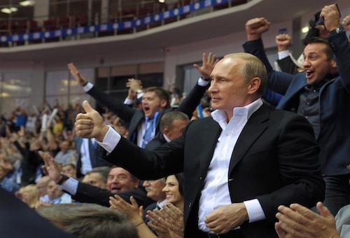 بوتين يتعهد بوضع أحد أفضل البرامج لمكافحة المنشطات