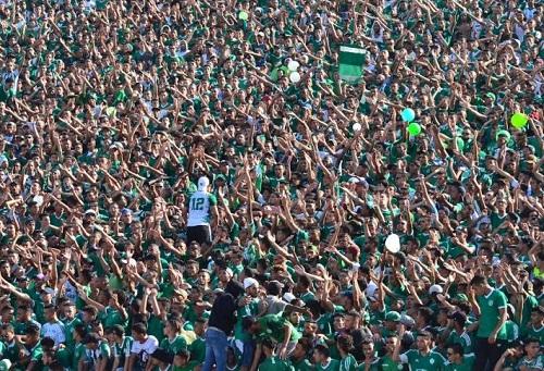 ألف تذكرة لجمهور الرجاء في مباراة أولمبيك خريبكة