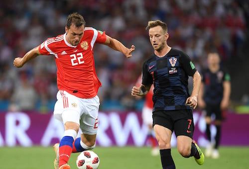 السويسري راكيتيتش يقود كرواتيا إلى المجد في روسيا