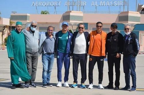 الرجاء وبركان في طائرة واحدة إلى تنزانيا وزامبيا