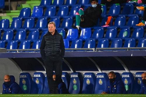 كومان يوجه سهامه نحو برشلونة الرديف بسبب سوء أداء الفريق الأول