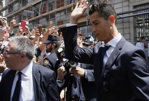 رونالدو لن يشارك في ودية يوفنتوس والريال