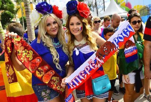"""الأرجنتين توزع دليلا لإغراء """"الحسناوات الروسيات"""" في المونديال"""