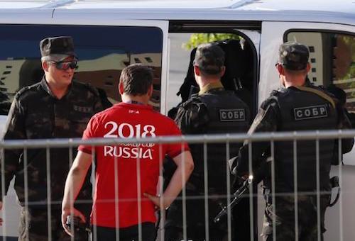 روسيا تعلن العثور على مشجع بريطاني مفقود