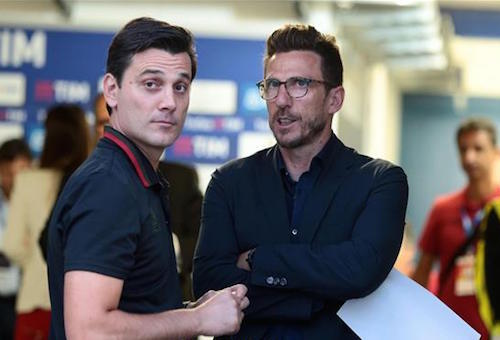 دي فرانشيسكو يكشف عن رهانه مع مونتيلا بدوري الأبطال