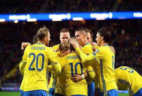 23 لاعبًا في قائمة السويد بكأس العالم