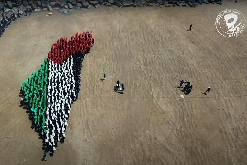 """""""غرين بويز"""": عائدون وفلسطين أرض حرة"""
