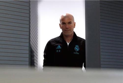 اجتماع زيدان يحضر ريال مدريد لمواجهة سان جيرمان