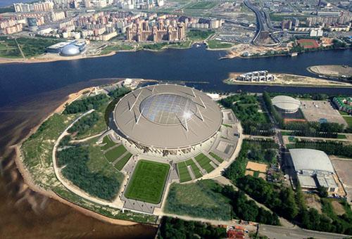 سان بطرسبرغ آرينا.. يدخل قائمة الملاعب الأعلى كلفة في العالم