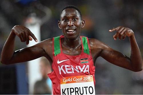 إصابة بطل ألعاب القوى الكيني كيبروتو بكورونا